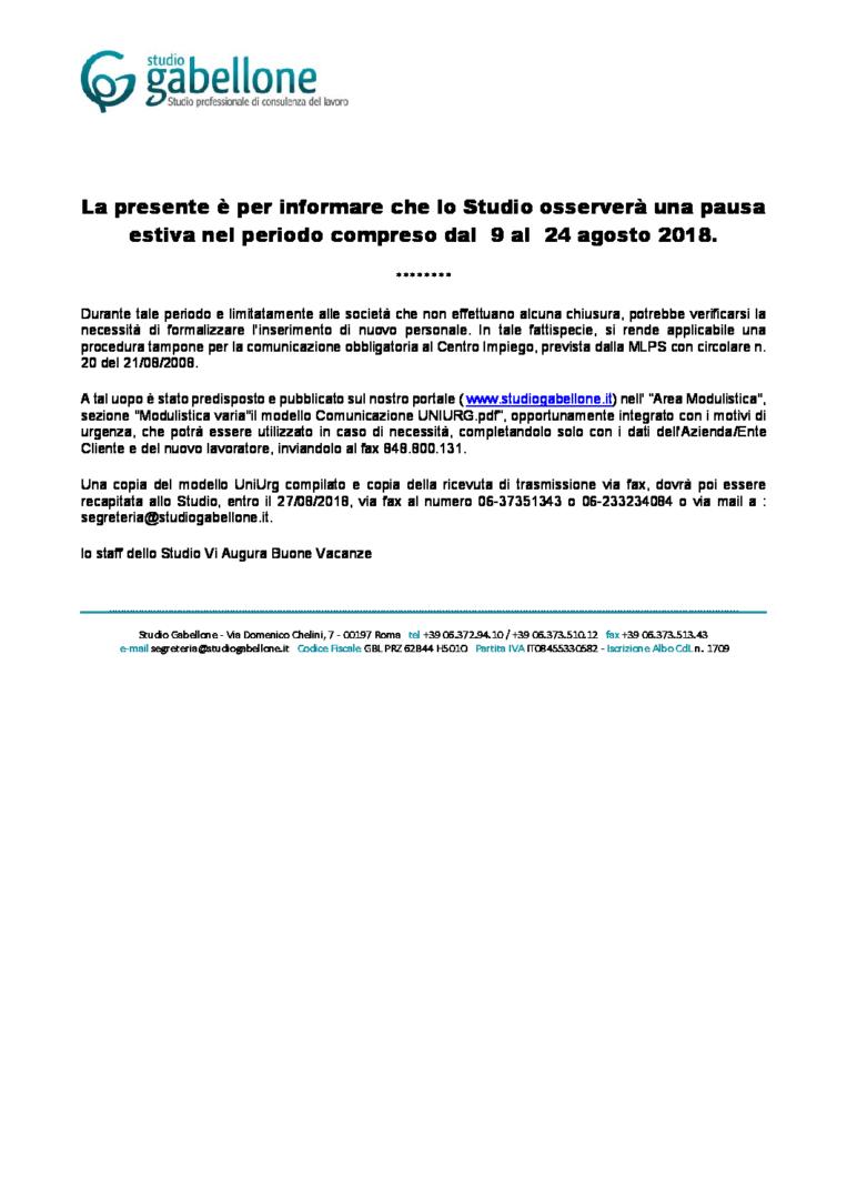 Chiusura-Estiva-2018-Procedure-durgenza-pdf-763x1080 Chiusura Estiva 2018 - Procedure d'urgenza Studio Gabellone, Studio Professionale di consulenza del Lavoro, Roma